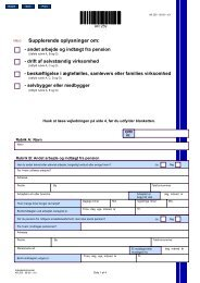 Arbejdsdirektoratet - Blanket AR 259 - 08-09 - Supplerende ...