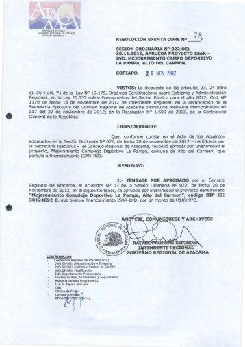·~1A /Cf ••g - Gobierno Regional de Atacama