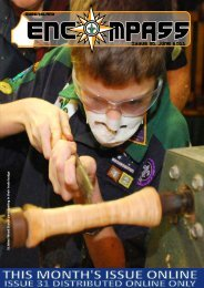 Issue 31 JUNE 2011 - Goodna Scout Group - Scouts Queensland