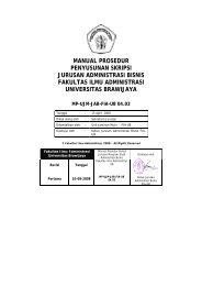 Manual Prosedur Skripsi - Universitas Brawijaya