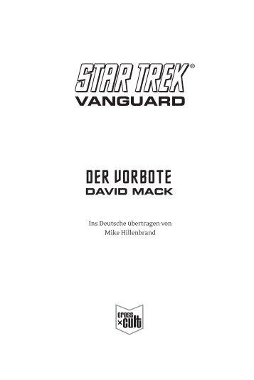 Band 1: Der Vorbote (pdf) - Star Trek Romane