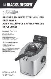 brushed stainless steel 4.5-liter deep fryer acier inoxydable brossé ...