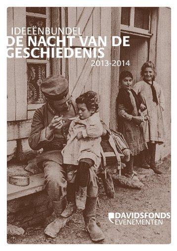 Ideeënbundel Nacht van de Geschiedenis 2013-2014 - Heemkunde ...