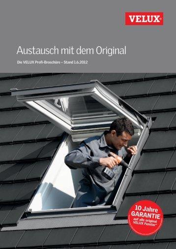 Zur Profi-Broschüre - Velux