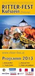 Festung Kufstein - Ritter-Fest