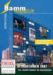 Attraktionen 2007 - Verkehrsverein Hamm