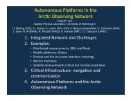 Download PDF - State of the Arctic 2010