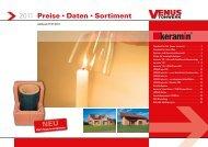2011 Preise Daten Sortiment - Tonwerk Venus GmbH