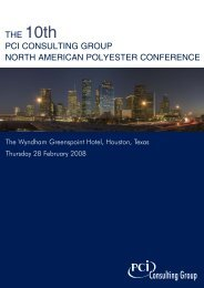 2008 PCI North American Polyester Conference.qxd - FiberSource