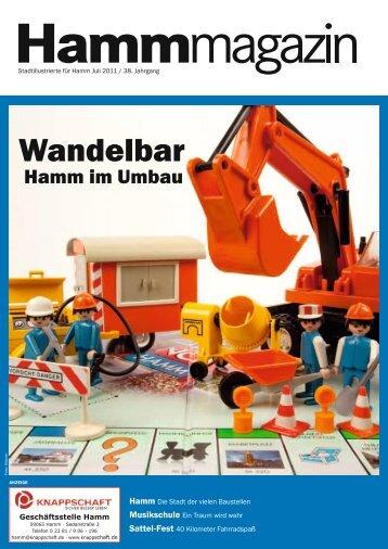 Wandelbar - Hamm im Umbau - Verkehrsverein Hamm