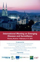 First Announcement - International Society for Infectious Diseases