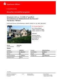 Exposé für das Einfamilienhaus in Dortmund als PDF laden