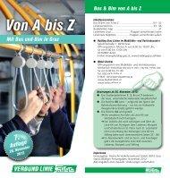 Bus und Bim von A bis Z - Verkehrsverbund Steiermark