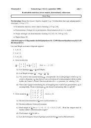 Matematik 1 Semesteruge 2 (8.-12. september 2008) side 1 ...