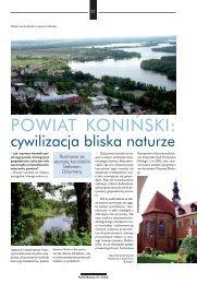 Panorama Polskich Miasta i Gmin - Powiat koniński