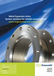 Metal Expansion Joints. System solutions for reliable connections in ...