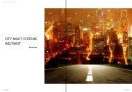City-Maut-SySteMe weltweit - Verkehrsjournal