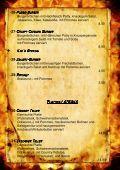 Speisekarte Speisekarte - Roadhouse Langenbruck - Seite 4