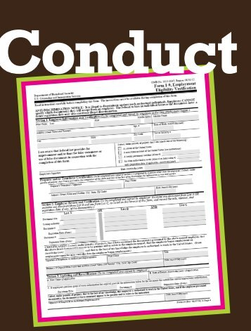 Conduct Form I-9 Audits and Protect the Attorney ... - FosterQuan