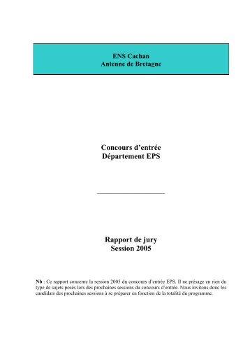 ENS Cachan - ENS de Cachan - Antenne de Bretagne