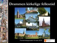 Drammen kirkelige fellesråd - Drammen kommune