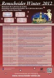Programm Remscheider Winter 2012 (pdf) - RP Online