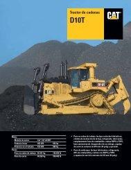 Specalog for Tractor de cadenas D10T, ASHQ5592 - Kelly Tractor