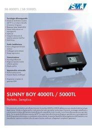 SMA Inverter SB5000TL