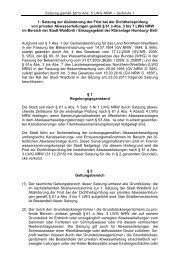 1. Abaenderungssatzung Dichtheitspruefung ... - Stadt Waldbröl