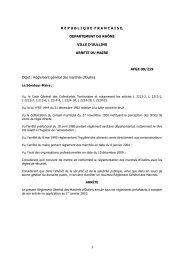 Règlement 2010 - Ville d'Oullins