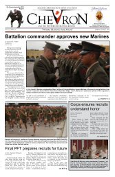 Battalion commander approves new Marines - Marine Corps Recruit ...