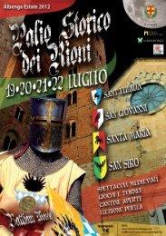 Lunedi 30 Luglio - Comune Albenga
