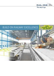 Sleeper Plant and Production Technology - RAIL.ONE GmbH