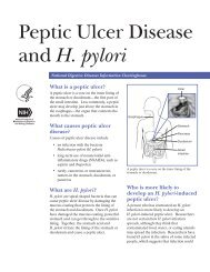 H. pylori ulcer - National Digestive Diseases Information ...