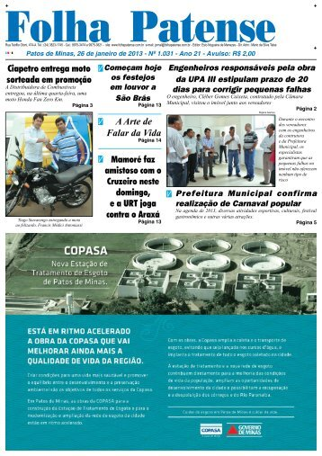 nº 1031 - Folha Patense