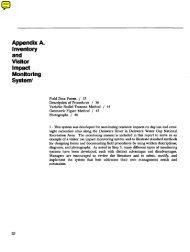 Appendix A. - Wilderness.net
