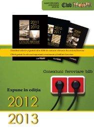 talon romana.pdf - Catalog Feroviar - Club Feroviar
