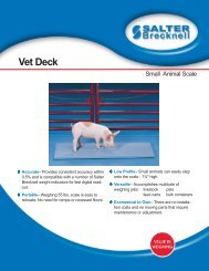 Vet Deck - Scaleable Scales