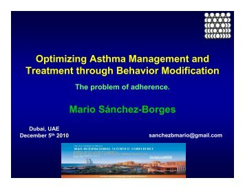 Mario Sanchez-Borges - World Allergy Organization