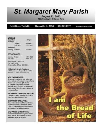 August 12, 2012 - Saint Margaret Mary Parish