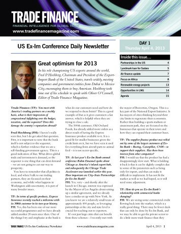 Newsletter - Trade Finance