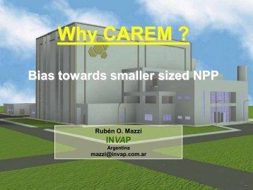 2009 - Why CAREM.pdf - UxC