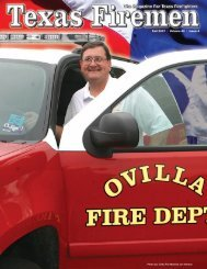Fall 2007 | Volume 42 | Issue 4 - State Firemen's & Fire Marshals'