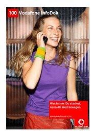 InfoDok 100: Preisliste für Vodafone Mobilfunk ... - Handy mit Vertrag