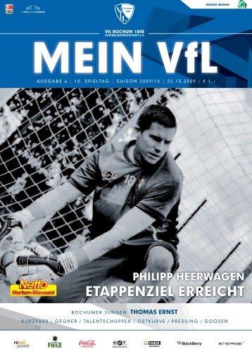 ETAPPENZIEL ERREICHT - VfL Bochum