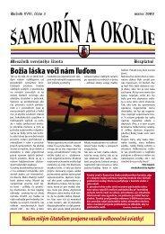 Božia láska voči nám ľuďom - Mesto Šamorín