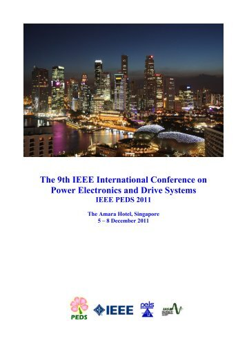 The 9th IEEE International Conference on Power Electronics and ...