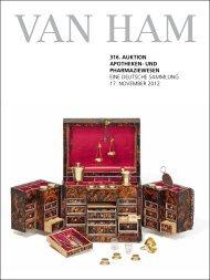 316. Auktion Apotheken- und phArmAziewesen - VAN HAM ...