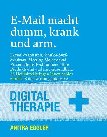 """47-Seiten-Auszug aus Anitra Eggers Buch """"E - Format"""