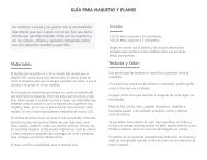 GUÍA PARA MAQUETAS Y PLANOS Escala: Texturas y ... - designblog